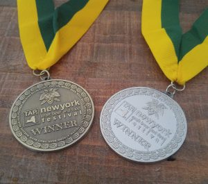 Silver and bronze medals from TapNY 2017